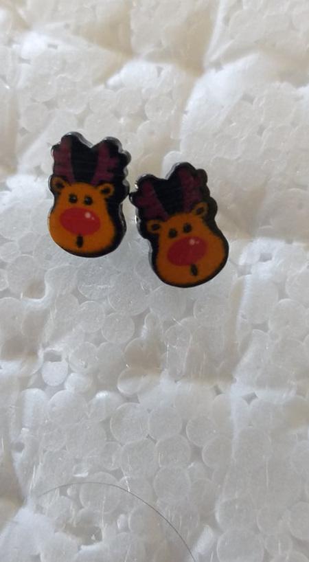 Christmas Themed Stud Earrings - Style 10