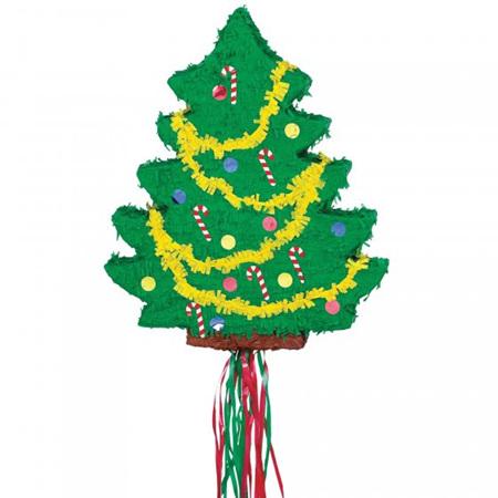 Christmas tree pinata - pull