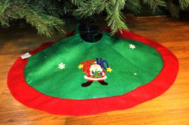 Christmas Tree Skirt - Ho Ho Ho