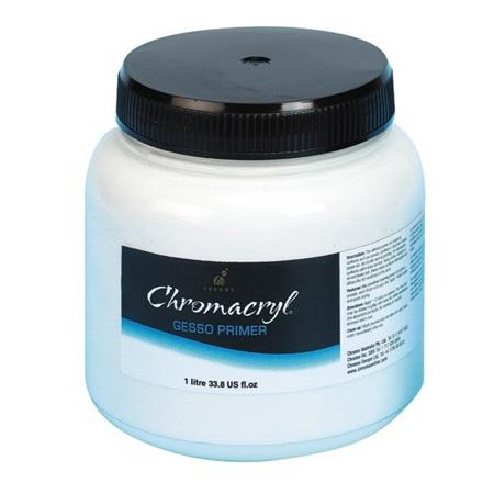 Chromacryl Gesso Primer - 1 Litre