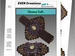 Chronus Cuff Bead Weaving Pattern