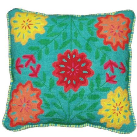 Chrysanthemum Cushion Kit by Jennifer Pudney