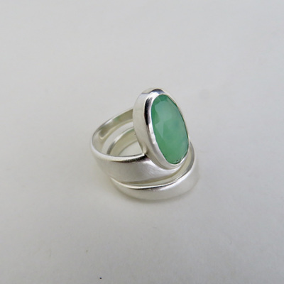 Chrysoprase Fitted Rings