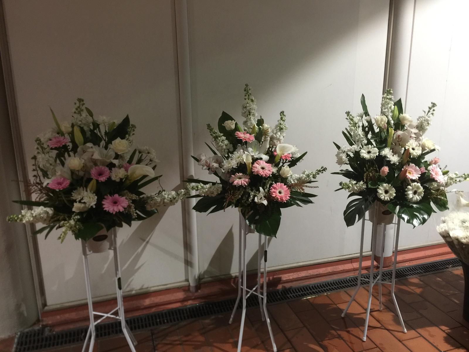 Church Service Arrangement Royal Oak Florist Flowerise Delivery Auckland