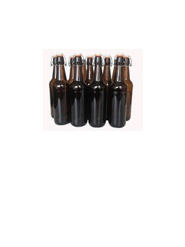 Cider/Brew Bottles - Flip Top x 12