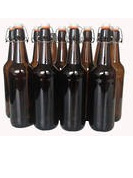 Cider/Brew Bottles - Flip Top x 12