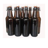 Cider/Brew Bottles - Flip Top x 6