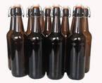 Cider/Brew Bottles - Flip Top x 6