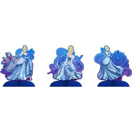Cinderella - 3 x Mini Centrepieces