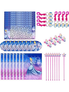 Cinderella 48 piece favour pack