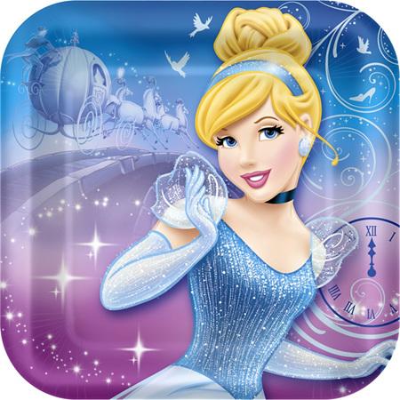 Cinderella Party Plates