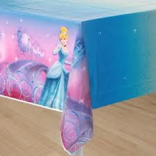 Cinderella Party Table Cover