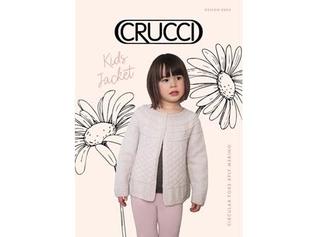 Circ Yoke Cardigan kids DK 2004 Crucci Pattern