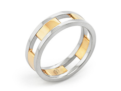 Circlipd Men's Wedding Ring