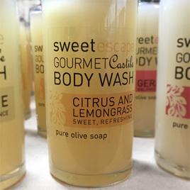 Citrus & Lemongrass Gourmet Castile Body Wash