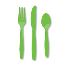 Citrus Party Cutlery Set