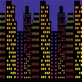 Cityscape backdrop - insta-theme