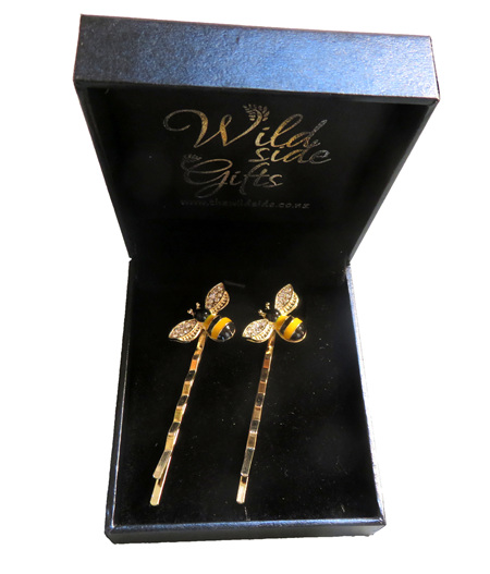 CL01 Bee Hair Clasps