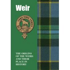 Clan Booklet Weir