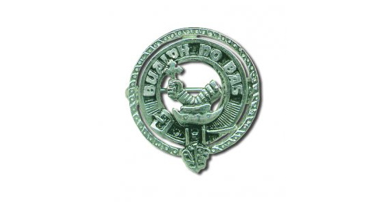 Clan Crest Lapel Brooches