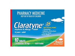 CLARATYNE 10mg 10tabs
