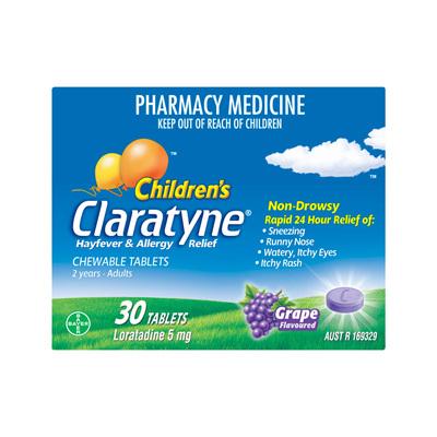 Claratyne Chewable 30s