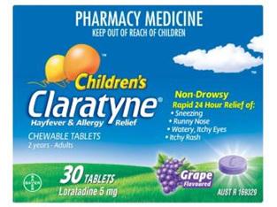 Claratyne Chewable Tablets