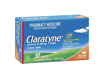 Claratyne Hayfever Allergy Relief 30 Tablets
