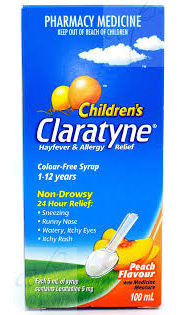 Claratyne Syrup 5MG/5ML 100ml