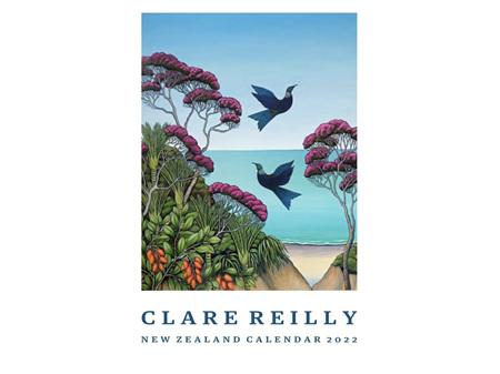 Clare Reilly New Zealand Calendar 2022