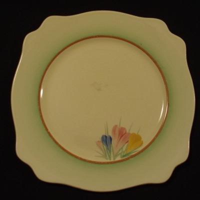 Clarice Cliff crocus plate