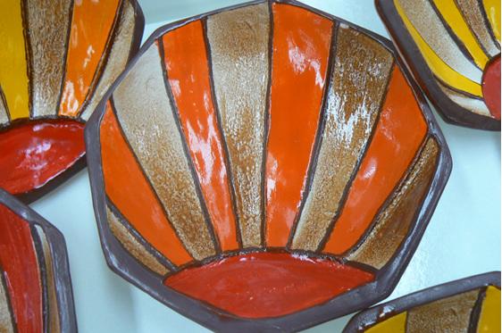 clarice cliff mug, art deco, clarice, nz ceramics, napier  art deco, nz art