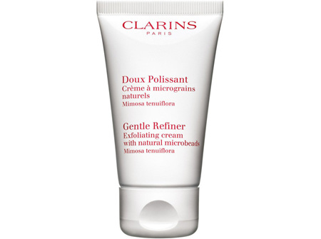 Clarins Gentle Refiner Exfoliating Cream with Natural Beads