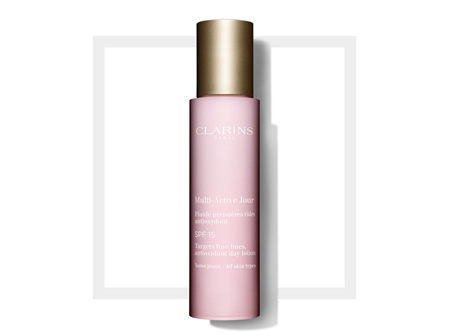 Clarins MultiActive Day Lotion SPF 15  All Skin Types