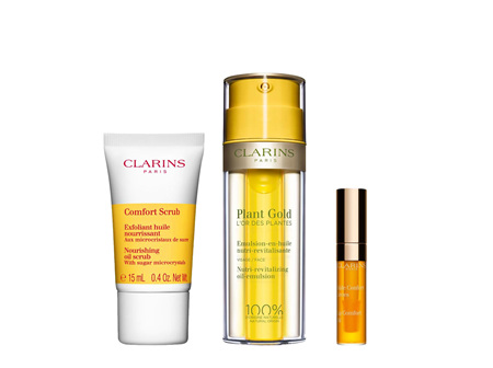 Clarins Plant Gold Aromaphytocare Collection