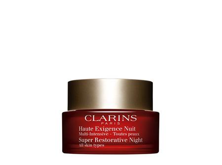 Clarins Super Restorative Night Cream 50ml - All Skin Types