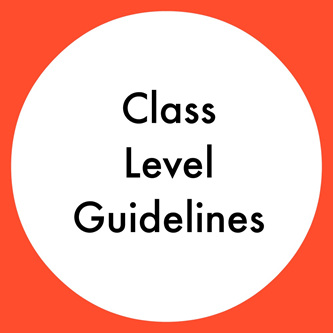 Class Level Guidelines