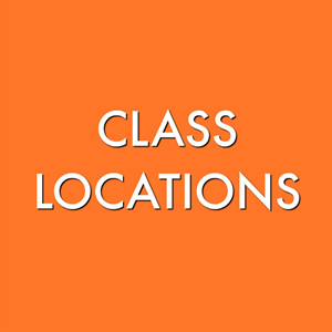 Class Locations for Term 3, 2019
