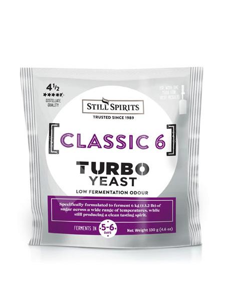 Classic 6 Turbo Yeast
