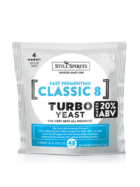 Classic 8 Turbo Yeast