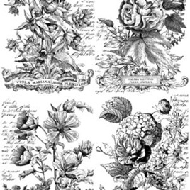Classic Bouquets IOD Decor Transfer