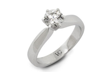 Classic Brilliant Cut Diamond Solitaire