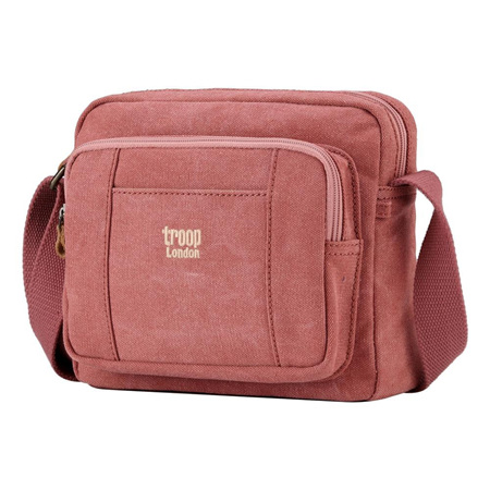 Classic Canvas Cross Body Bag - Pink