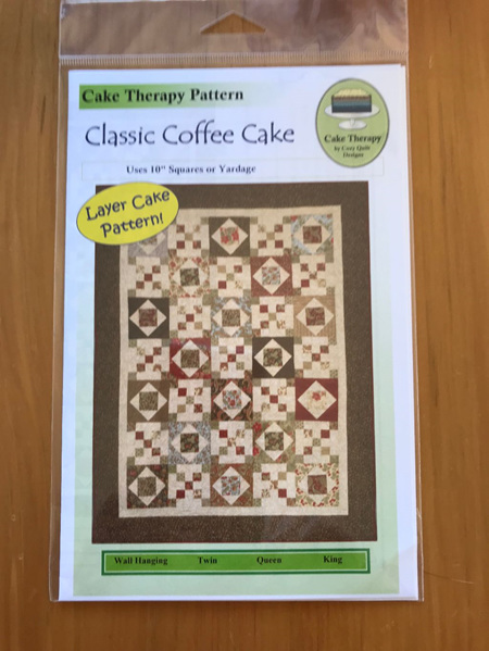 Classic Coffee Cake Quilt Pattern