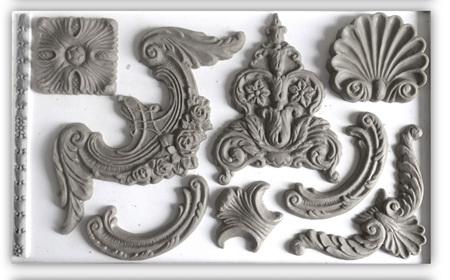 Classic Elements IOD Decor Mould