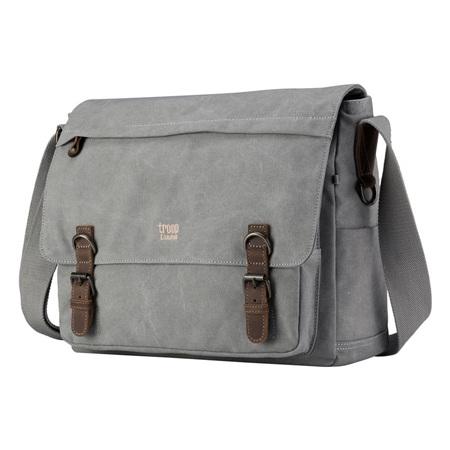 Classic Laptop Messenger Ash Grey