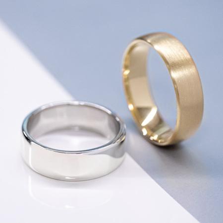 Classic Men's Wedding Rings