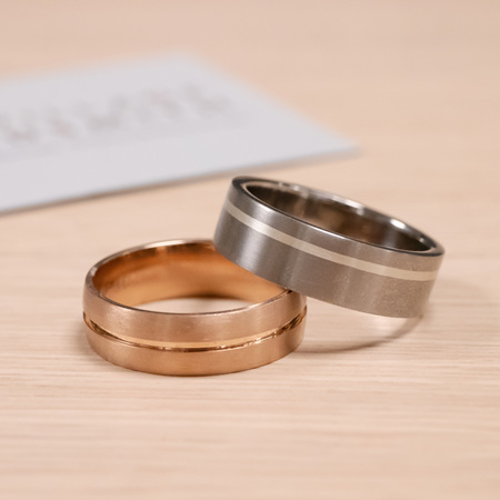 Classic Men's Wedding Rings