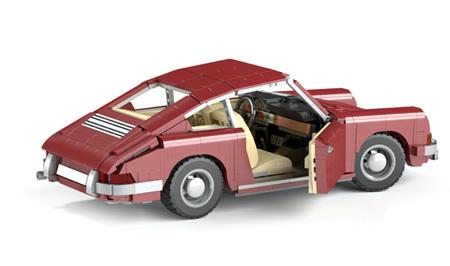 Classic Porsche 911 1708 Pieces