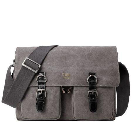 Classic Satchel Bag - Charcoal